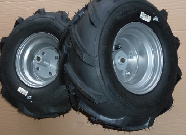 Westwood Countax Tractor Chevron Tyre Set Pair