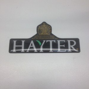 Hayter Tractor and Pedestrian Lawnmower Decal 410087